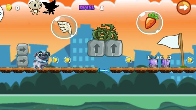 puppy super dog Run Game pals screenshot 1