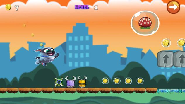 puppy super dog Run Game pals screenshot 2