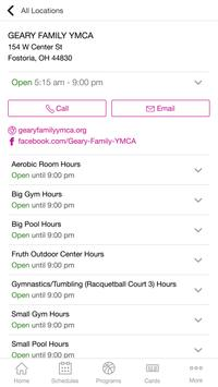 Geary Family YMCA poster