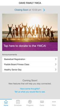 Oahe YMCA screenshot 1