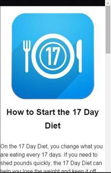 17 Day Diet To Go Tracker screenshot 3