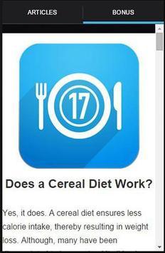17 Day Diet To Go Tracker screenshot 1