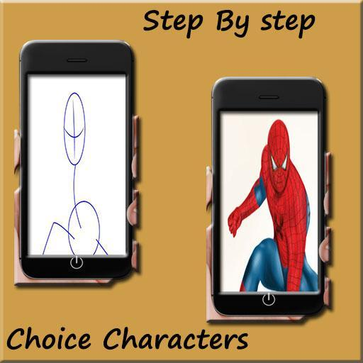 How to draw Spiderman homecoming for Android - APK Download