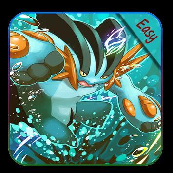 How to draw Pokemon Mega evolution poster