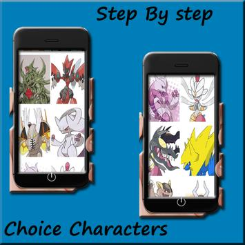 How to draw Pokemon Mega evolution screenshot 3
