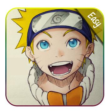 How to draw Naruto Easy poster