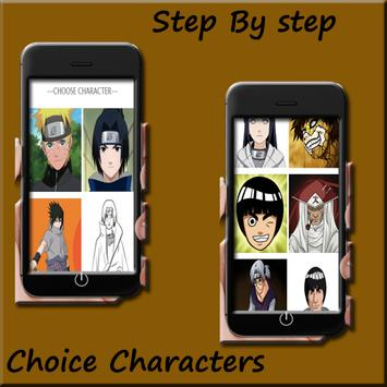 How to draw Naruto Easy screenshot 1