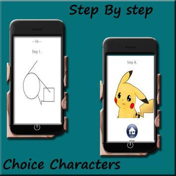 How to draw Pokemon Easy screenshot 5