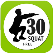 Barbell Squat Workout Exercise icon