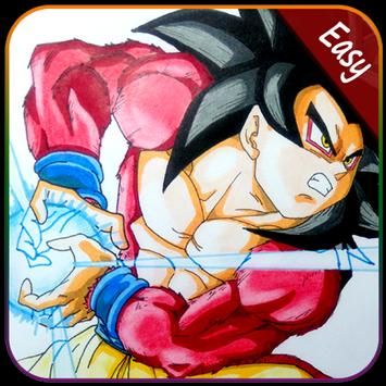 How to Draw Goku Super Saiyan poster