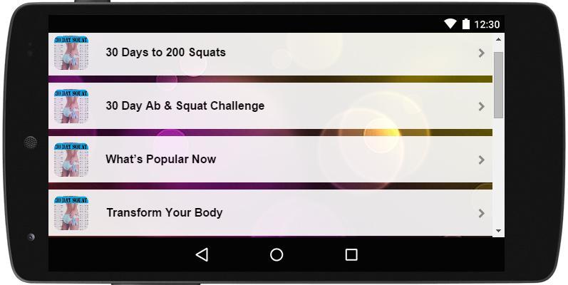 30 Day Squat for Android - APK Download