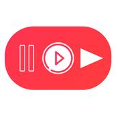 Black Video Tube icon