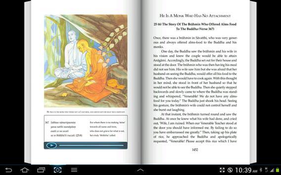 English Dhammapada Chapter 25 screenshot 2