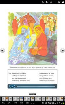 English Dhammapada Chapter 25 screenshot 3