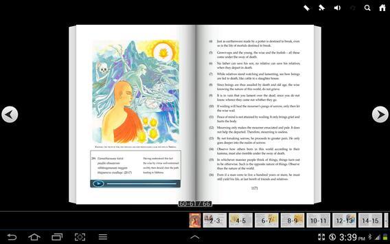 English Dhammapada Chapter 20 apk screenshot