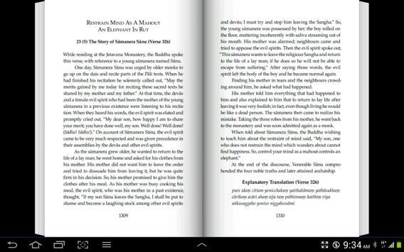 English Dhammapada Chapter 23 screenshot 3