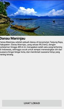 Pencarian Lokasi Wisata Sumbar apk screenshot