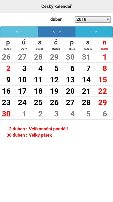 cesky svatek kalendar Český kalendář for Android   APK Download cesky svatek kalendar