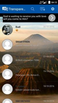 Transparent Message screenshot 2