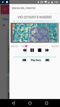 PlayTo Samsung TV apk screenshot