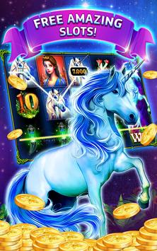 Mysterious Unicorn Free Slots poster