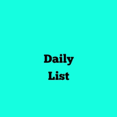 Daily List:List Day Activity icon