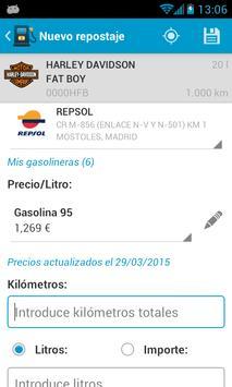Fuel Consumption Spain screenshot 4