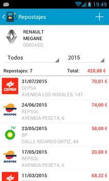 Fuel Consumption Spain screenshot 5