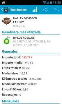 Fuel Consumption Spain screenshot 6