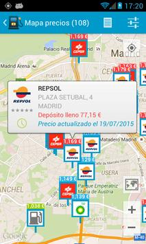 Fuel Consumption Spain poster