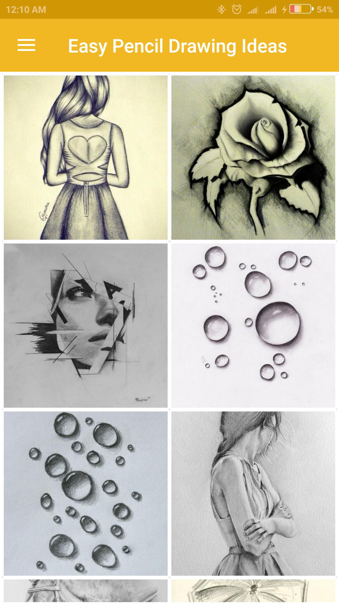 8 Fantastic Surfaces to Draw On (Especially for Colored ... |Simple Pencil Portraits