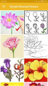 Simple Drawing Flowers screenshot 1