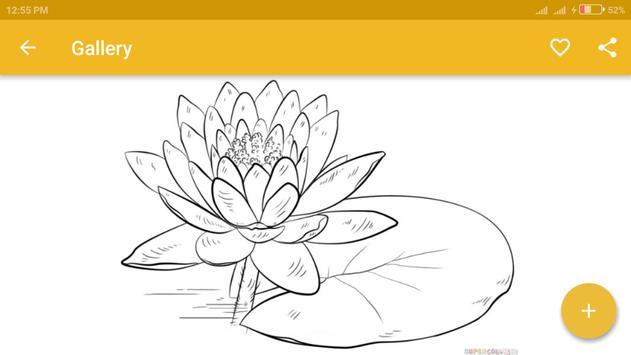 Simple Drawing Flowers screenshot 3