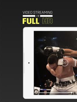 DAZN Live Sports Streaming apk zrzut ekranu