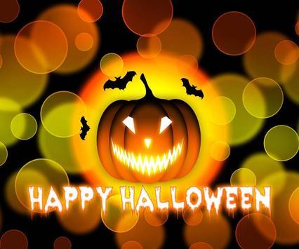 Halloween Theme Wallpaper poster