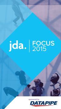 JDA FOCUS 2015 poster