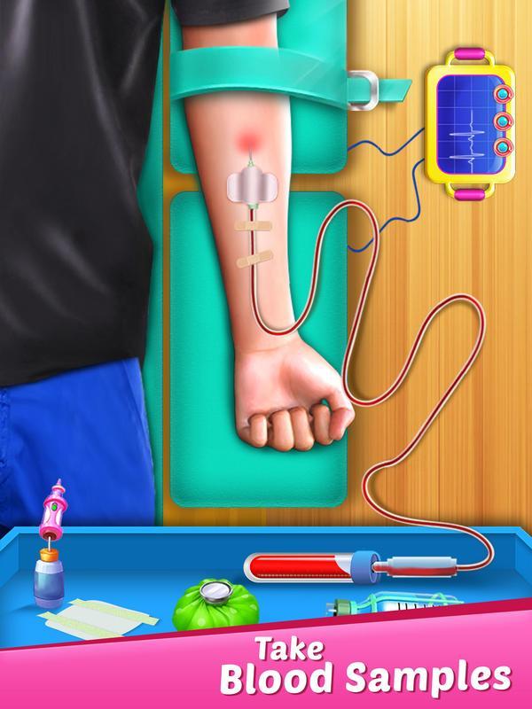 ER Injection Simulator: Rumah Sakit Tes Darah Dokt APK Download - Gratis RPG PERMAINAN untuk ...