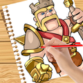 How to Draw: Clash of Clans