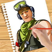 How to Draw: Fortnite icon