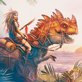 Jurassic Survival Island: Evolve icon