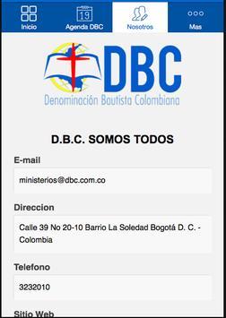 DBC screenshot 2