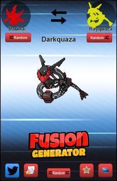 Fusion Generator for Pokemon poster