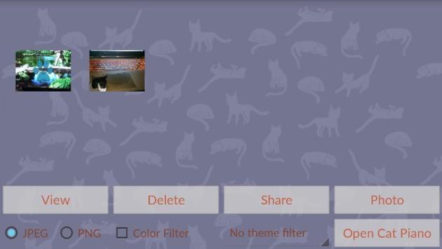 Cat Bomb Camera apk screenshot