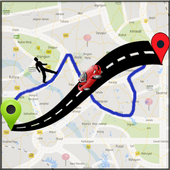 GPS Route Finder-Live Location icon