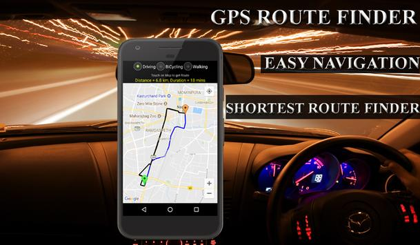 GPS Route Finder-Live Location poster