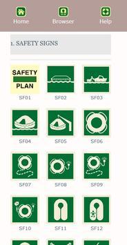 Marine Safety Signs 스크린샷 1