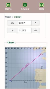 Navigation Calculator capture d'écran 3