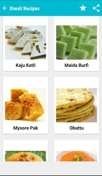Diwali Food Recipes 2016 apk screenshot