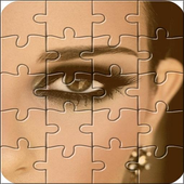 Make up puzzle icon
