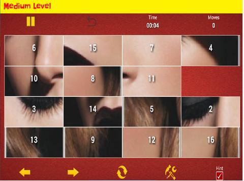 Make up puzzle apk screenshot